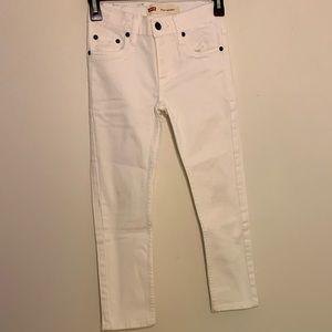 Levi's White Boy Jeans